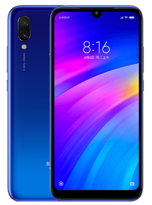 XIAOMI Redmi 7 64Gb, синий