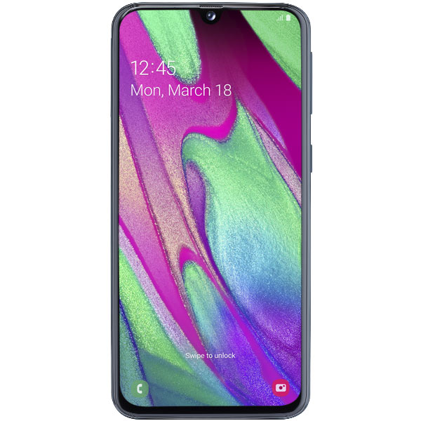 Samsung Galaxy A40 (2019) 64Gb Black