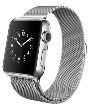 Купить Apple Watch 38mm Stainless Steel Case with Milanese Loop в Ростове-на-Дону