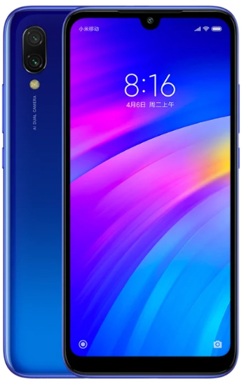 Купить Redmi 7 3/32GB синий в Ростове-на-Дону