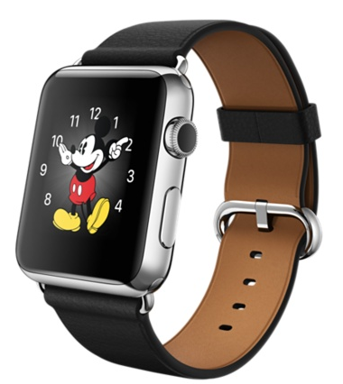 Купить Apple Watch 42mm Stainless Steel Case with Black Classic в Ростове-на-Дону
