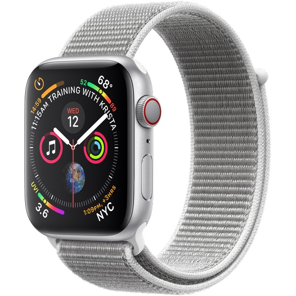 Купить Apple Watch Series 4 44mm Silver / Seashell loop в Ростове-на-Дону