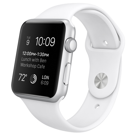 Купить Apple Watch Sport Series 1 42mm with Sport Band White в Ростове-на-Дону